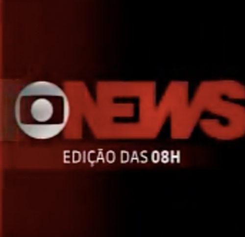 TV Globonews Jornal da Globonews edição 08h