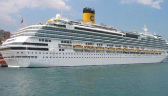 Pier Mauá recebe navios - costa-favolosa