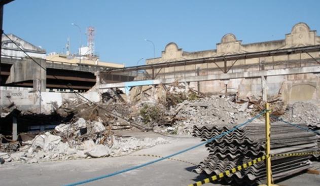 2007 – OBRAS DE RESTAURAÇÃO NOS ARMAZÉNS