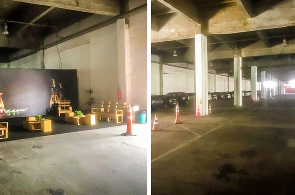 Estacionamento 24h<br /> no Boulevard Olímpico