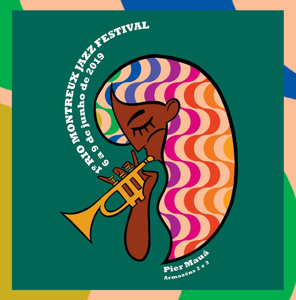 Cartaz Marcello Serpa - Montreux Jazz Festival 2